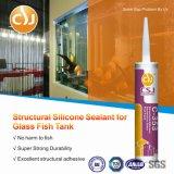 Blanc acide structural de puate d'étanchéité de silicones d'aquarium