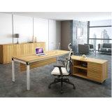 مكتب حاجز 4 [ستر] مكتب مركز عمل مع جانب خزانة معدن إطار قاعدة