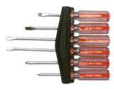 6ПК набор отверток в блистерной упаковке карты плоской отвертки Phillips