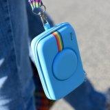 Caso di EVA per lo schiocco & la macchina fotografica di Digitahi istante della stampa di tocco a schiocco (blu)