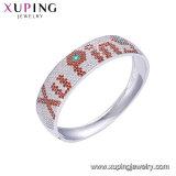 52015 la nueva moda Xuping bastante elegante Brazalete de plata de zirconio