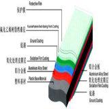 Pente A1 matérielle de panneau de faisceau composé en aluminium de LDPE