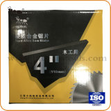 "4 "" 40t TctはWood&Aluminumのダイヤモンドのハードウェアのツールの切断については鋸歯の円の炭化物を"