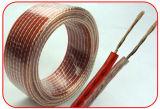Кабель 2X10AWG 2X12AWG 2X14AWG 2X16AWG диктора провода диктора верхнего сегмента OFC HiFi