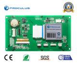 module de TFT LCD de 6.2 '' Uart avec le contact résistif Screen+RS232