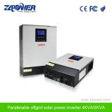 С помощью функции параллельного порта 48В постоянного тока 230VAC Чистая синусоида солнечного зарядного устройства инвертор