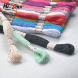 Linha elevada do cone do algodão da tenacidade da garantia de comércio