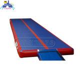 Couvre-tapis gonflable de piste de matelas d'air de gymnastique de sport de Dwf
