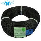 Fio de alta temperatura do silicone da trança da fibra de vidro UL3122