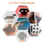 Machine de découpage de laser de fibre pour l'acier inoxydable de 0.5-5mm