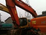 Máquina escavadora hidráulica usada da esteira rolante de Hitachi Zx200 da máquina escavadora do equipamento de construção