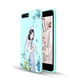Cajas ULTRAVIOLETA del teléfono celular de la impresión del OEM de la nueva belleza clásica de lujo del diseño personalizadas para el iPhone 7