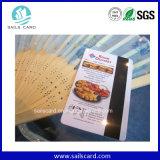 Mercado Mayorista de China de la tarjeta de códigos de barras de plástico barato/Tarjeta de regalo