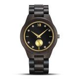 De Mensen van de fabriek Al Aangepast Vrij Beste Zwart Geval Gekleurd Zwitsers Houten Horloge van de Beweging