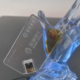 Nouveaux produits Acrylique Transparent USB Flash Card for Hot-Selling