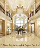 Voll polierte glasig-glänzende 600X600mm Porzellan-Fußboden-Fliese (TJ64009)