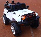 Kühle Art scherzt die elektrischen Spielzeug-Kinder, die Auto fahren
