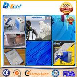 Laser die van de Vezel van het Metaal van de goede Kwaliteit de Handbediende Draagbare Machine dek-20wf merkt