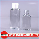 Freie Plastikflasche des haustier-60ml mit Kippen-Oberseite-Schutzkappe für das persönliche Sorgfalt-Verpacken