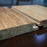 Alta calidad de superficie lisa Strand tejida piso de bambú