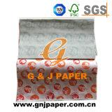 Diversa papel de embalaje impreso de la hamburguesa de los colores aduana para la venta