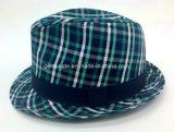 검사 직물 Onshell (YGF039)를 가진 중절모 모자