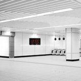 Modo am/pm eletrônica digital LED Grande Relógio de parede com controlo remoto