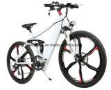 Bicicletta elettrica della bici della montagna da 26 pollici con la rotella Integrated della lega del magnesio
