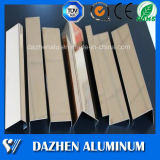 La garniture de tuile effectue un virage le profil en aluminium en aluminium d'alliage d'extrusion avec des couleurs personnalisées
