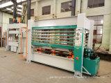 Presse chaude de porte de machines de travail du bois
