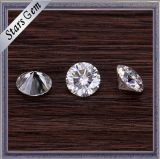 Ronde Vorm 5mm Briljante Witte Synthetische Diamant Moissanite voor de Gouden Juwelen van de Manier
