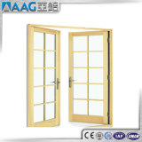 装飾のグリルが付いているヨーロッパ式アルミニウム開き窓のドア