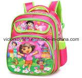Saco dobro preliminar dos miúdos das crianças da criança dos desenhos animados do ombro do jardim de infância (CY3642)
