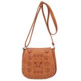 優雅なアメリカのヨーロッパの標準的な空の織り方レーザーの切口の蝶ハンドバッグの女の子の女性袋