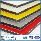 El panel compuesto coloreado aluminio para el área exterior y interior