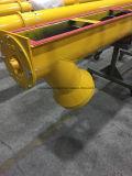 Het u-Type van Sicoma Transportband van de Schroef van de Avegaar van de Buis de Spiraalvormige