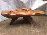 Kungfu 차를 위한 탁자를 새기는 자연적인 나무 패턴 루트