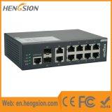 8 commutateur réseau gauche managé d'accès d'Ethernet de Tx 2 SFP