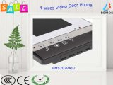 One-Two Wired Video Door Phone com tela LCD de 7 ""