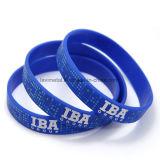 Ginásio personalizado personalizada Sport Cool bracelete de silicone para homens