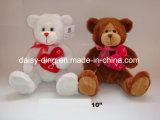Urso de peluche do Valentim com T-shirt vermelho