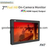 4K HDMI Input&에 의하여 출력되는 on- 카메라 마운트 7 ' lcd
