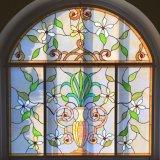キャビネットの装飾のさまざまなデザインおよびカラーステンドグラスのクラフトパターン