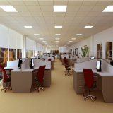 屋内600X600 mmの正方形超薄く細い48W LEDの天井板ライト