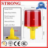 Luz de obstrucción (sola luz) con el regulador en grúa/torre de la señal