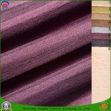 Tissu enduit imperméable à l'eau imperméable à l'eau de rideau en arrêt total de tissu de polyester tissé par textile pour le rideau en guichet