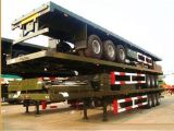 40FT Behälter-Typ 3 Wellen-modularer flaches Bett-Plattform-Schlussteil