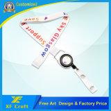 Fabricação de cordão personalizado, fita adesiva de plástico (XF-LY06)