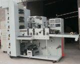 Бумажная печатная машина Flexo крена ярлыка с аттестацией Ce (ZBRY-650)