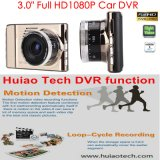 """Neue heiße 3.0 """" volle HD1080p Auto-Kamerarecorder-Gedankenstrich-Kamera mit H264. BEWEGUNGEN DVR Format, großFlugschreiber des auto-5.0, 6g Objektiv, 170degree Winkel DVR-3017"""